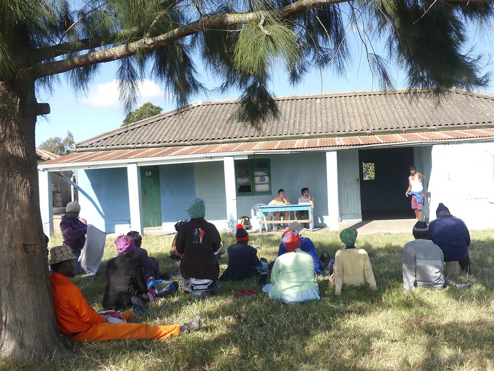 Rencontre avec les habitants de Msobomvu