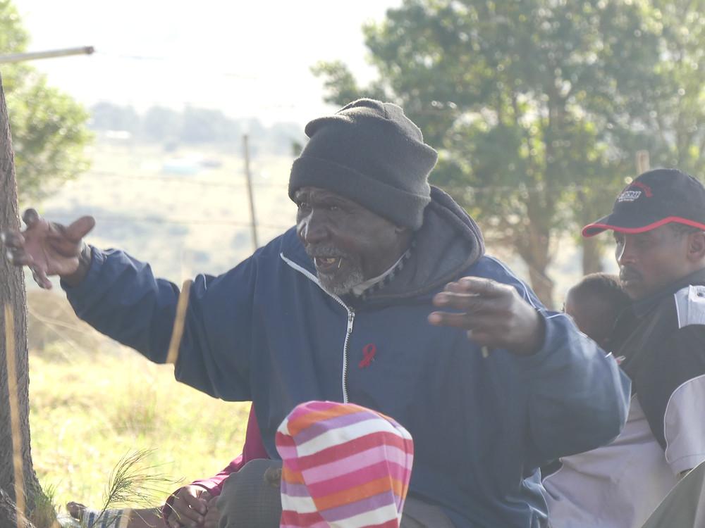 Homme de la communauté de Msobomvu