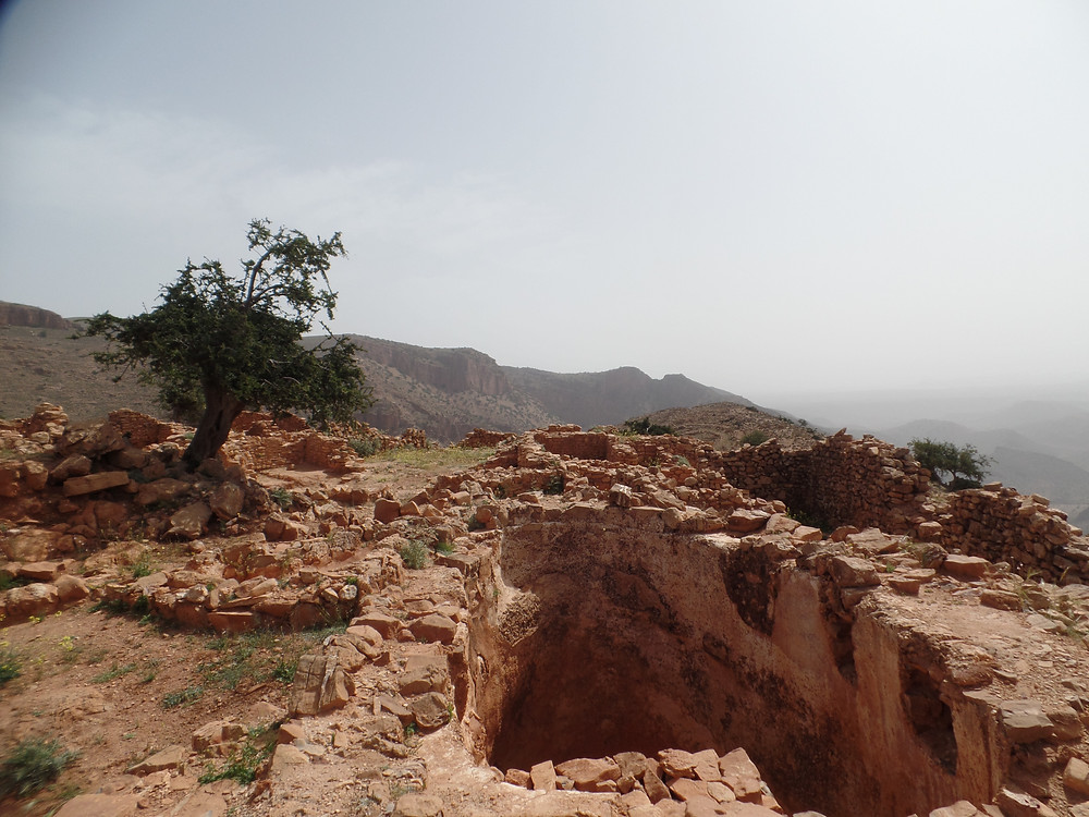 Ruines de la forteresse d'Igiliz (XIIème siècle)