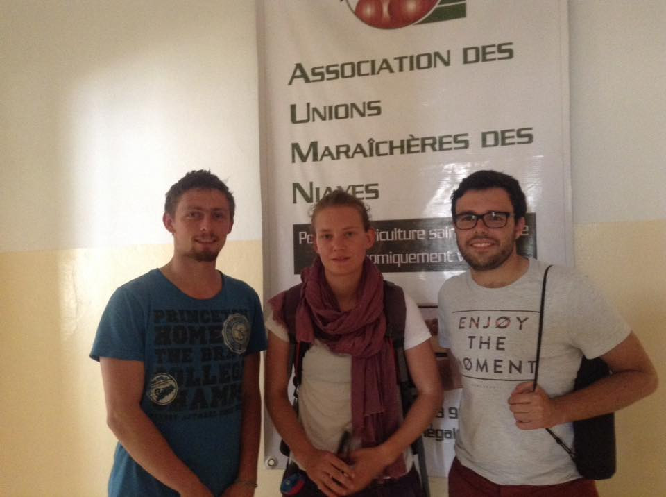Visite à l'association des Unions Maraîchères des Niayes