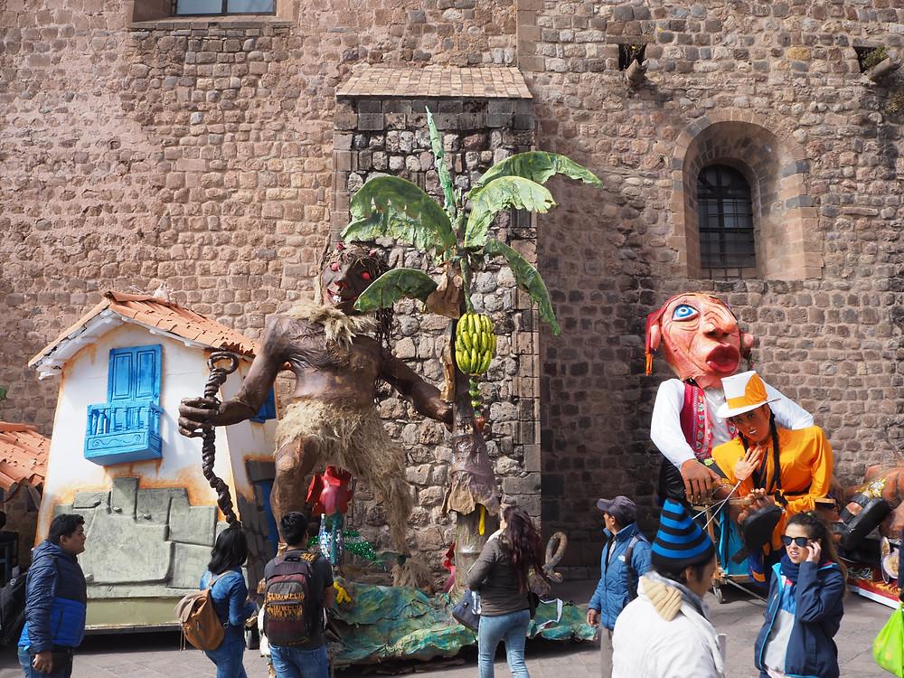Chars à Cusco