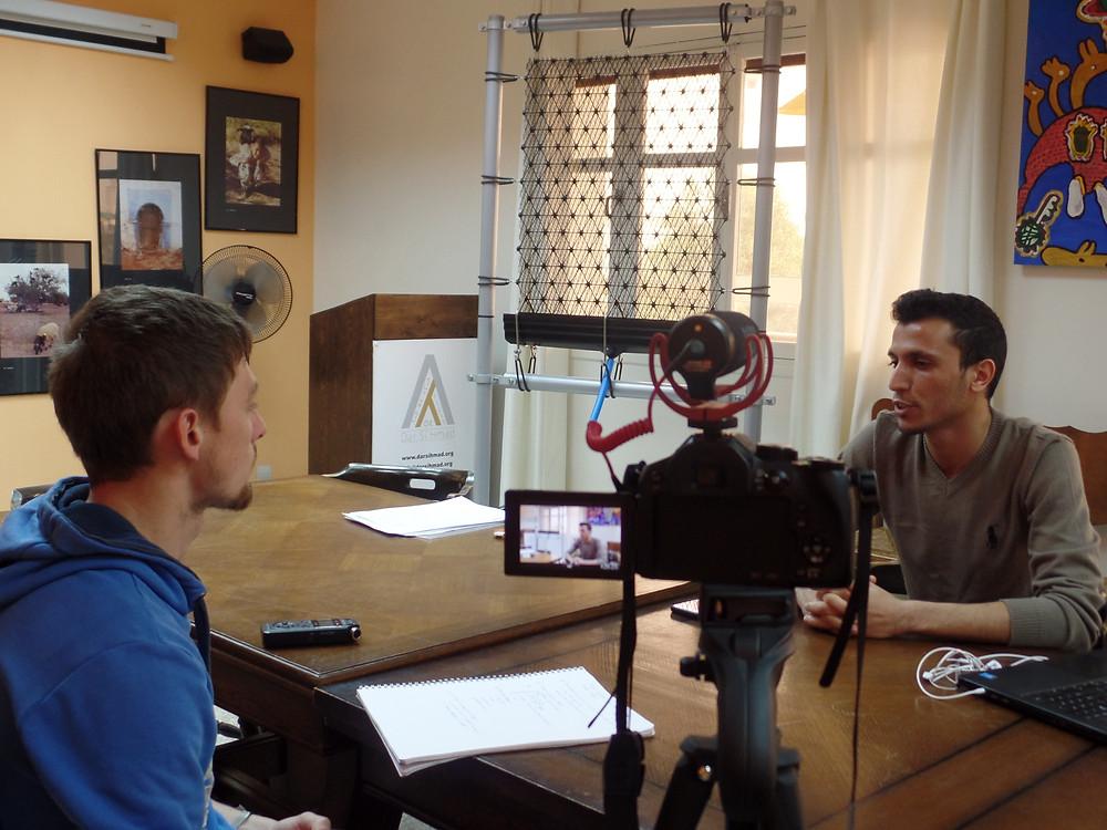 Interview de Mahdi Lafram (association Dar Si Hmad)