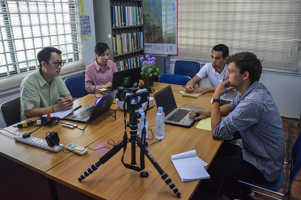 Interview avec M. Chundara Khun d'Open Development Cambodia