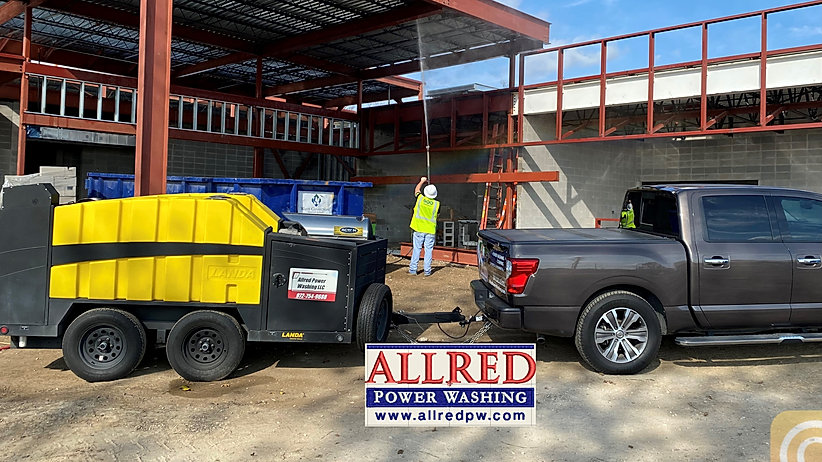 Commercial Pressure Washing Dallas