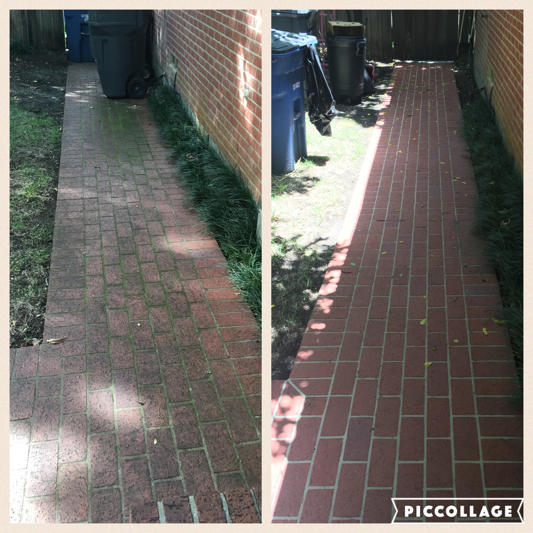 brick paver cleaning North Dallas