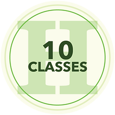 10 Classes Icon