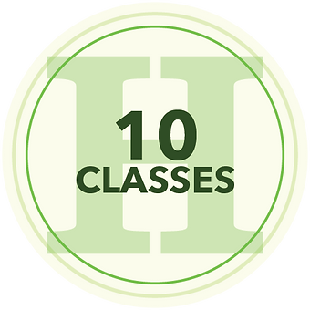 10 Classes Icon