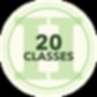 20 Classes Icon