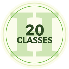 20 Classes Icon