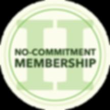 No Commitment Membership Icon