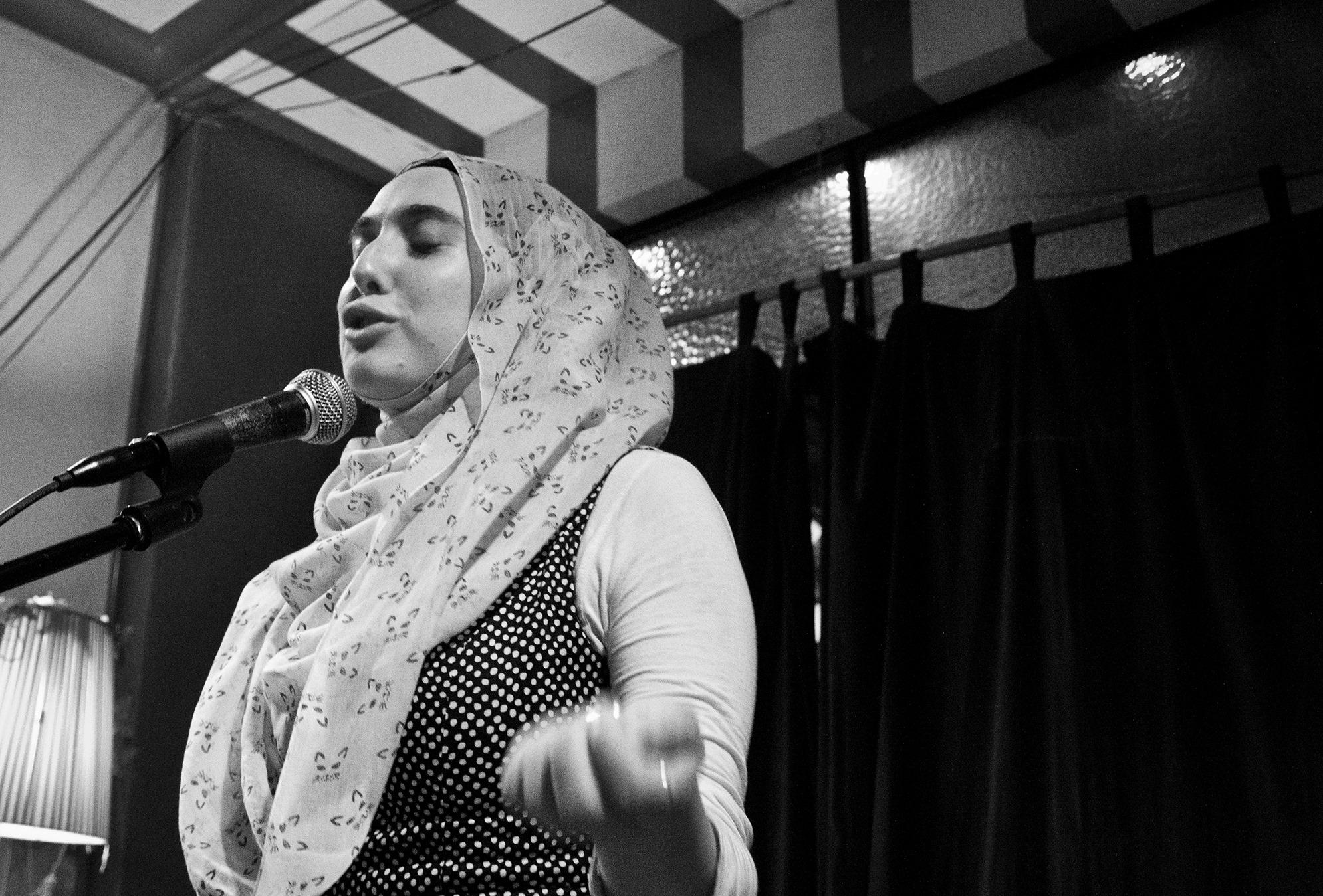 Poet Sharifa Tartoussi