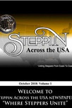 Steppin Across the USA Newspaper 2nd Edition