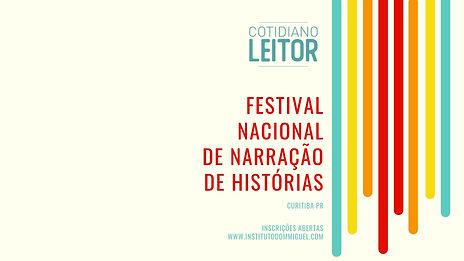 FESTIVAL NACIONAL DE NARRAÇÃO DE HISTÓRIAS
