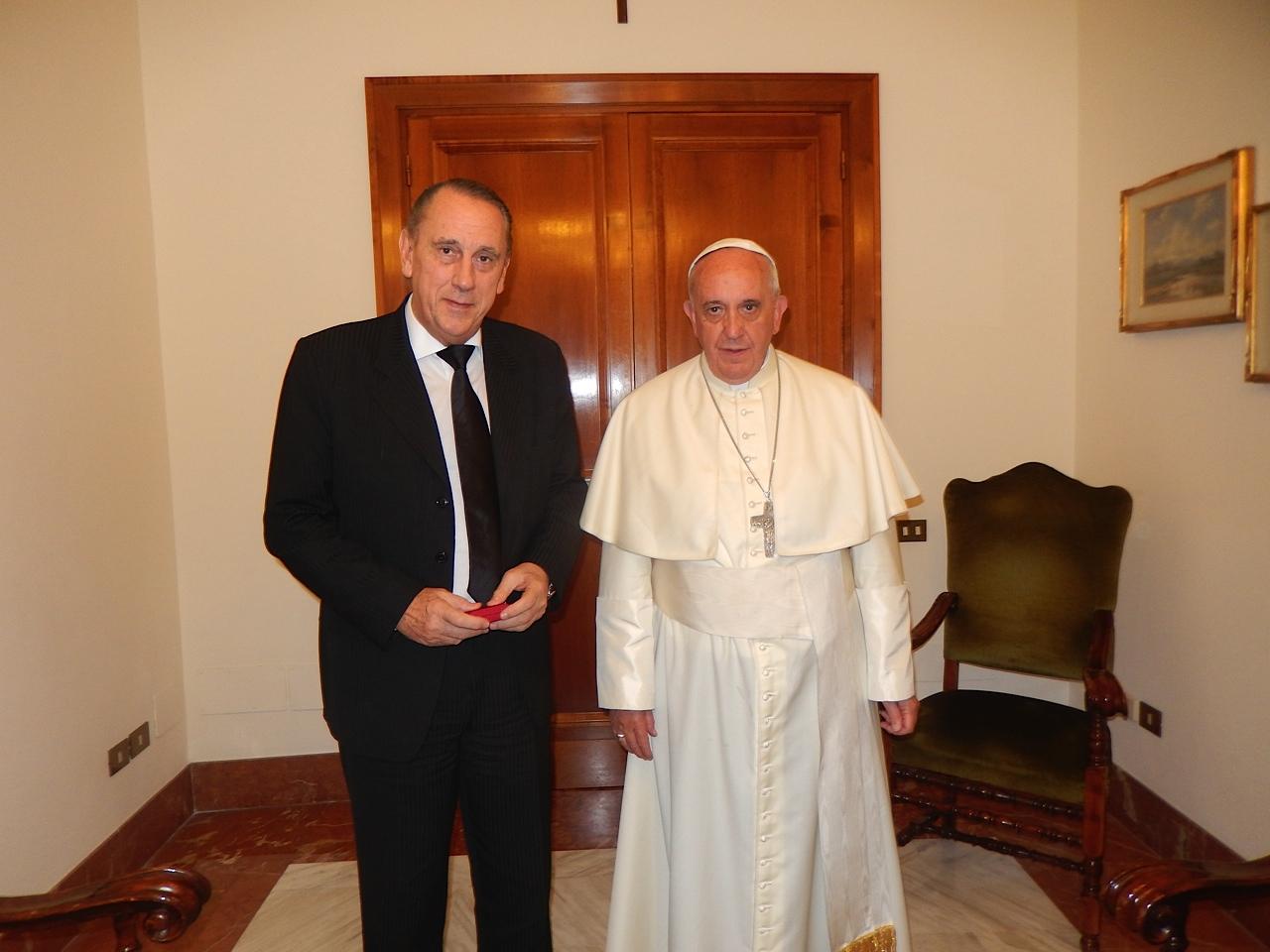 Con el Papa Francisco