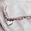 Thumbnail: Love U 100%, Pearl Necklace with Heart Enamel Pendant, Multi Color