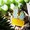 Thumbnail: California Botanical Selection - Sedum morganianum, Premium Succulent Enamel Pin