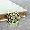 Thumbnail: California Botanical Selection - Lithops, Succulent Enamel Pin, Pebble Plants