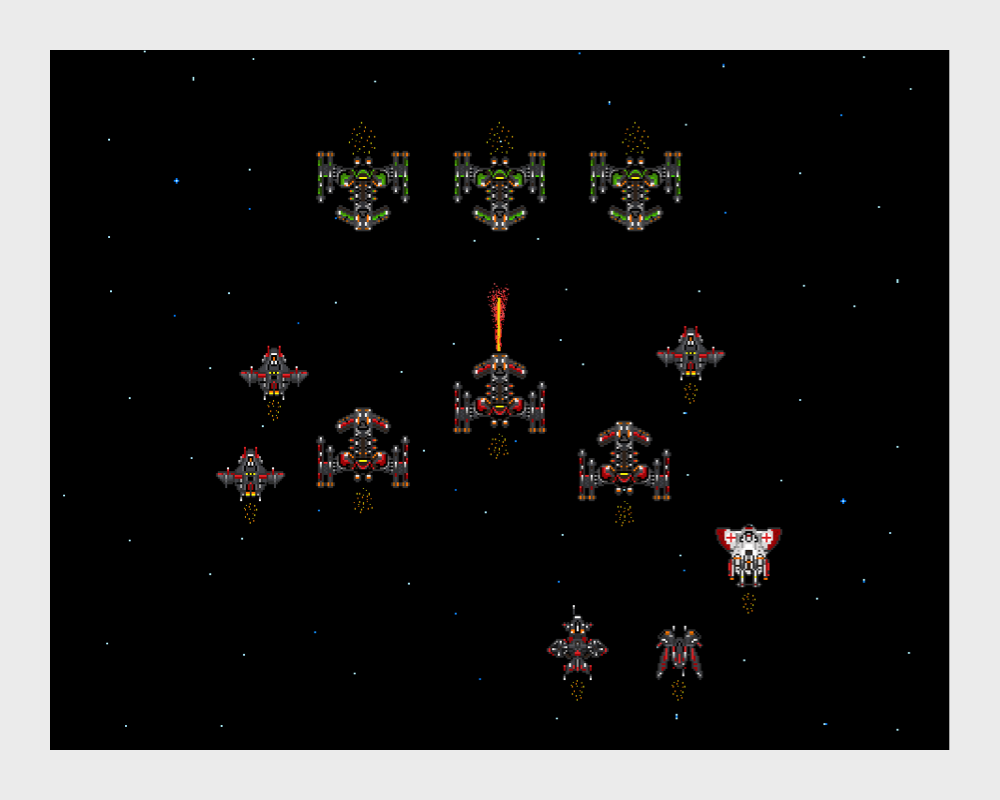 StarCraft II Pixel Art by Yi Han