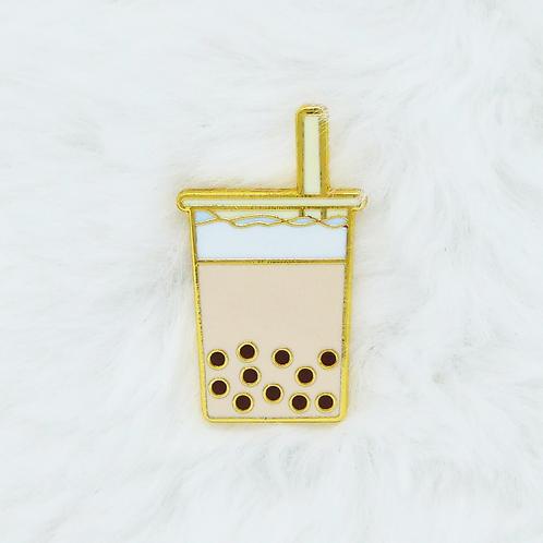 Yummy Now - Boba Milk Tea, Premium Enamel Pin