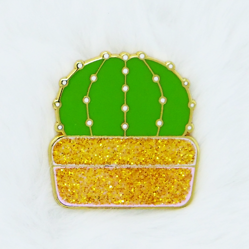 California Botanical Selection - Echinopsis subdenudata, Premium Enamel Pin