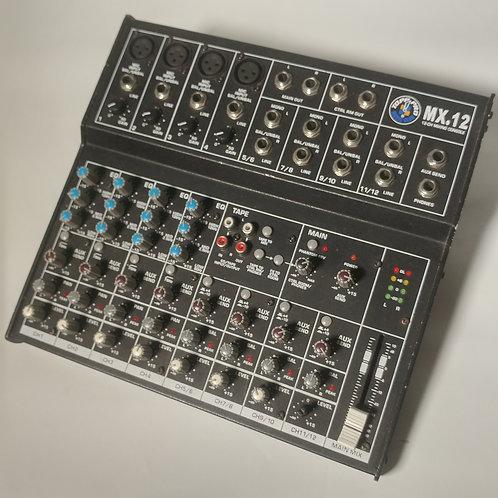 Mixer 12 canales Topp Pro MG12/4