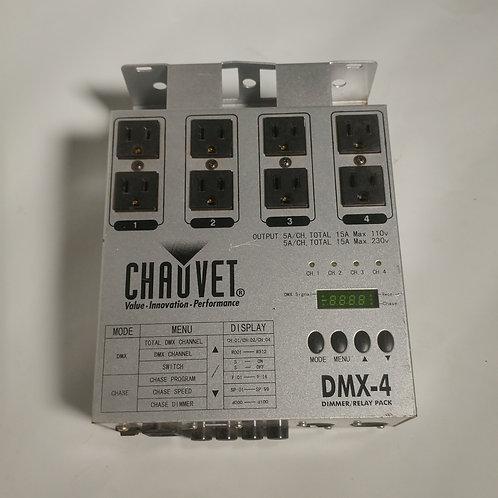 Dimmer/relay Chauvet DMX-4