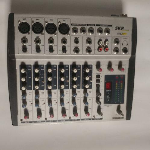 Mixer 8 canales SKP VZ8 FX