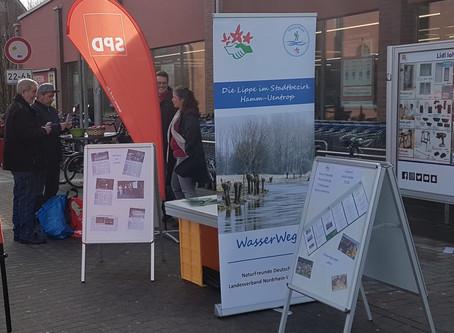 Ostersamstag - Infostand der NaturFreunde OG Hamm-Werries