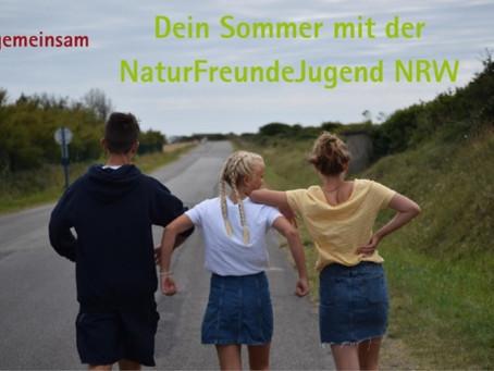 Sommerferien-Aktivitäten in Kooperation mit der NaturFreundejugend NRW