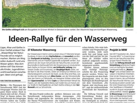 Wasserwege Ideen-Rallye