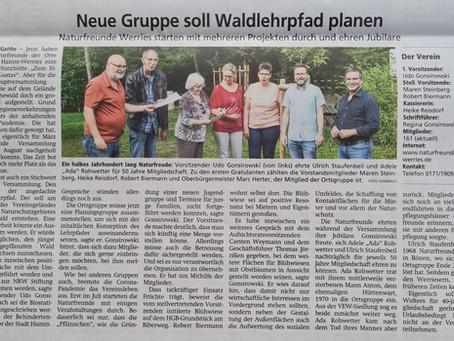 Neue Gruppe soll Waldlehrpfad planen