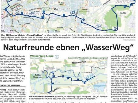 """NaturFreunde ebnen """"WasserWeg"""""""