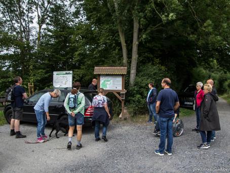 Geführte Wanderung am 31.07.2021 über den Natura Trail im Naturschutzgebiet Geithewald