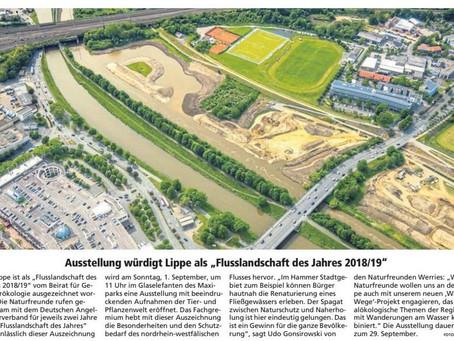 """Ausstellung würdigt Lippe als """"Flusslandschaft des Jahres 2018/19"""""""