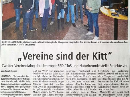 """""""Vereine sind der Kitt"""""""