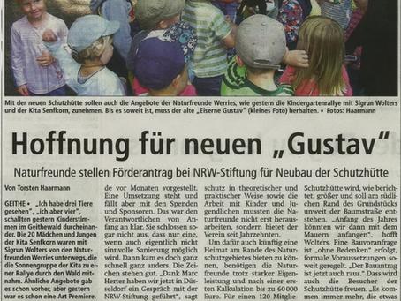 """Hoffnung für neuen """"Gustav"""""""