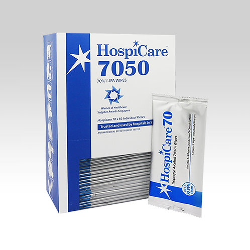 HospiCare 7050 Alcohol Wipes