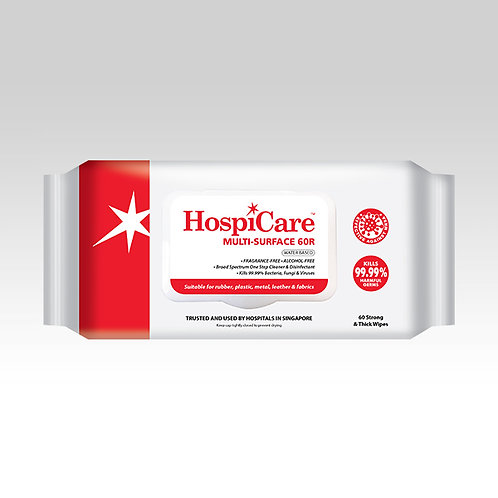 HospiCare 60R Multi-surface Wipes