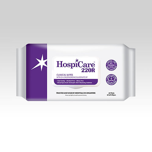 HospiCare 220R Clinical Wipes