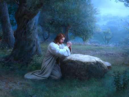 Jesus Prayed for Strength to Endure Trials