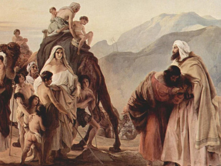 Jacob's Flight and Exile