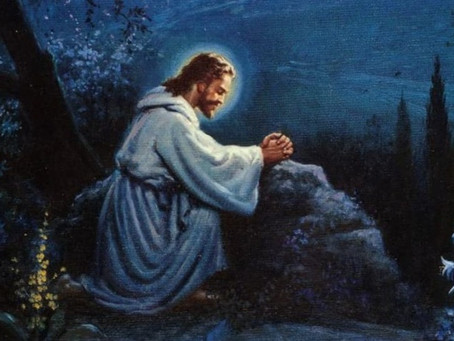 Christ Prayed as an Example for Us