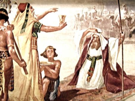 Abraham Giving