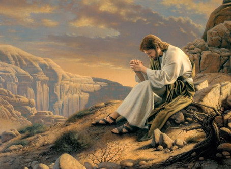 Jesus' Humanity Made Prayer A Necessity