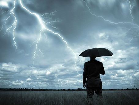 A Strong Man in a Storm