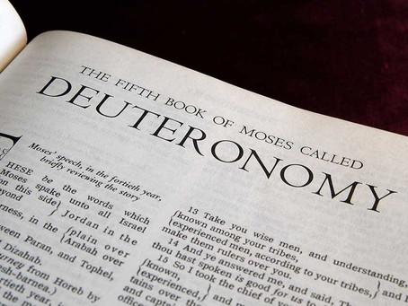 Study Deuteronomy Carefully