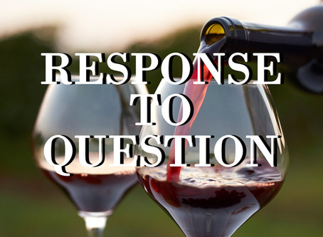 Question: Wine is a Mocker