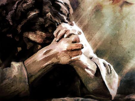 Jesus Knelt When He Prayed