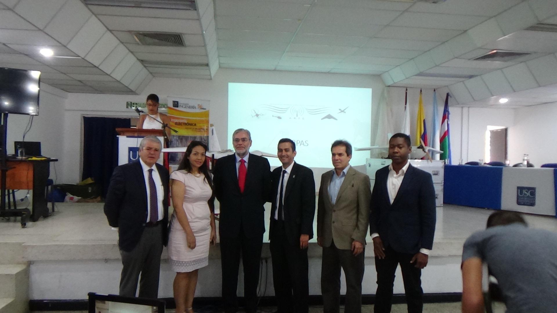 Delegados USC, ARTC, EuroUSC y ATLAS