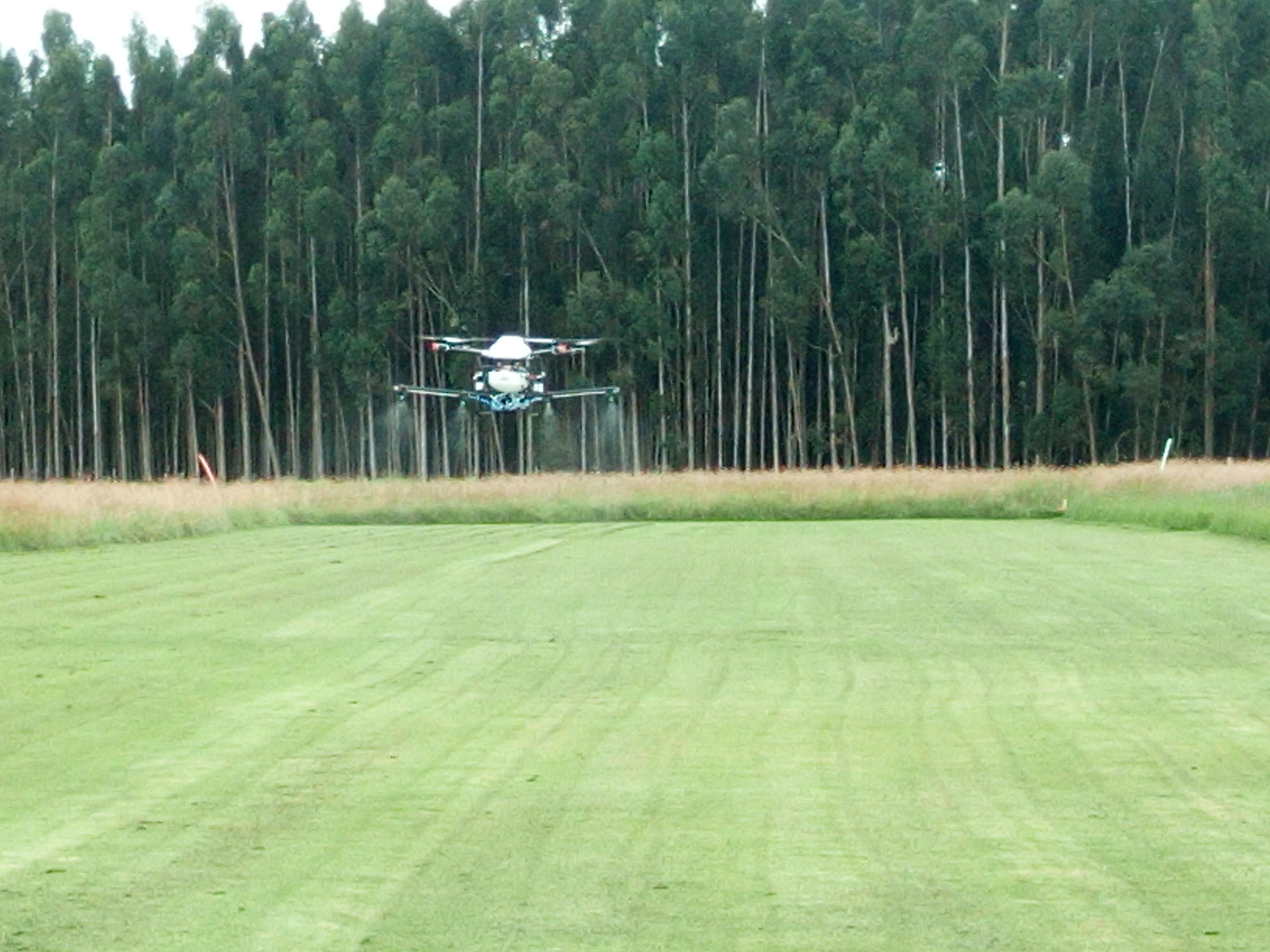 EN PRUEBA DE DRONE